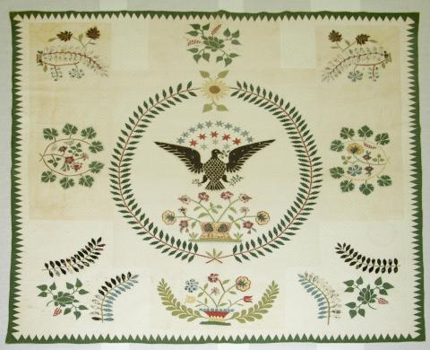 Eagle Quilt by Catharine Garnhart