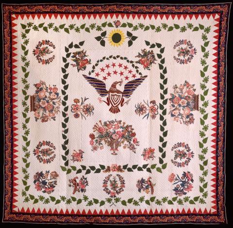 Eagle Quilt by Catharine Garnhart
