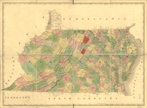 Winchester, Frederick County or Page County, Virginia