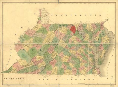 Berkeley or Jefferson County, Virginia (now West Virginia)