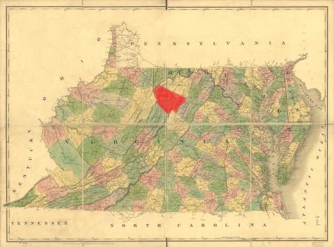 Moorefield, Hardy County, Virginia (now West Virginia)
